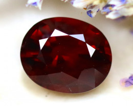 Almandine 2.08Ct Natural Vivid Blood Red Almandine Garnet D1203/B26