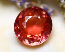 Tourmaline 1.30Ct Natural Orangey Pink Color Tourmaline D1220/B49