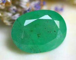Emerald 2.85Ct Natural Zambia Green Emerald D1222/A38
