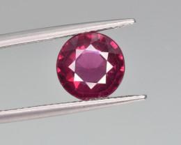 Natural Rhodolite Garnet 3.02 Cts Precision Cut Gemstone