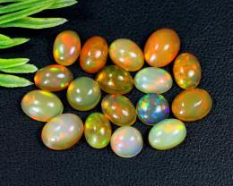 Welo Opal 10.81Ct Natural Ethiopian Rainbow Flash Welo Opal Lot B0829