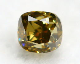 Yellowish Orange Diamond 0.21Ct Natural Untreated Genuine Diamond C0941
