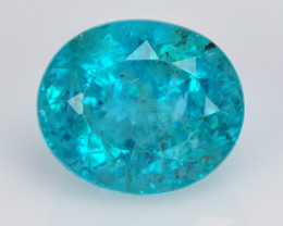 Neon Apatite 5.29 Cts Un Heated Fancy Green Natural Gemstone