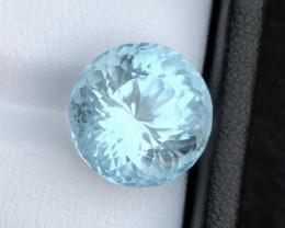 HGTL CERTIFIED 2000$ Natural Aquamarine 8.85 cts Gorgeous Color Badakhshan