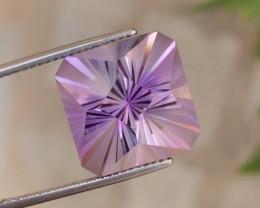 19.30Ct Natural Custom Cut Purple  Amethyst Gemstone