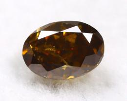 Yellowish Brown Diamond 0.30Ct Natural Untreated Genuine Diamond B1044