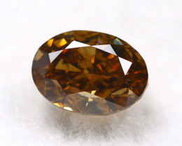 Intense Orange Diamond 0.29Ct Natural Untreated Genuine Diamond C1042