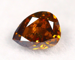 Intense Orange Diamond 0.24Ct Natural Untreated Genuine Diamond A1041