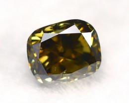 Greenish Brown Diamond 0.24Ct Natural Untreated Genuine Diamond A1042
