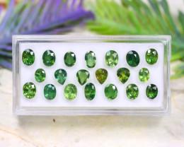 Sapphire 9.35Ct Natural Australian Green Color Sapphire Lot B1023