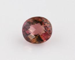 Bi colour Tourmaline, from Nigeria, rare gems very special, #B3BI-27