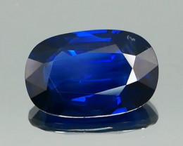 No Heat Royal Blue Sapphire 4.16Ct.