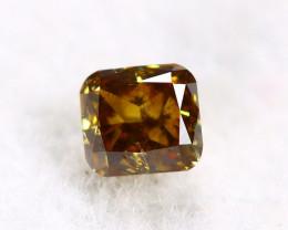 Yellowish Brown Diamond 0.20Ct Natural Untreated Genuine Diamond C1143