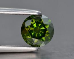 1.334 CRT NATURAL GREEN DIAMOND GEMSTONE - AFRICA