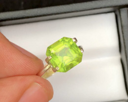 Himalaya Mined 3.50 Ct Natural Green Peridot G
