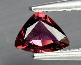 0.26ct,VS Trillion Natural Purplish Pink Sapphire Unheated Songea