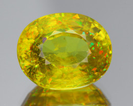 5.29Ct AAA Fire Sphene Exquisite Quality