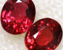 0.84 CTS  FIREY RED SPINEL FROM KENYA [SPN202]
