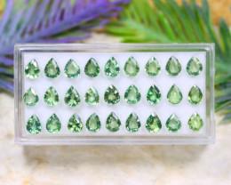 Sapphire 10.20Ct Pear Cut Natural Australian Green Sapphire Lot B1220