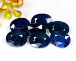 Sapphire 10.99Ct Oval Cut Natural Nigeria Dark Blue Sapphire Lot B1216
