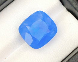 Aquamarine 12.25 Top  Natural Blue Color Aquamarine Jumbo Size