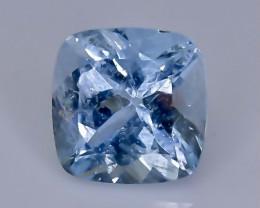 1.42 Crt  aquamarine  Natural  Faceted Gemstone.( AB 44)