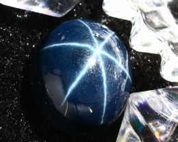 Star Sapphire 16.40Ct Natural 6 Rays Blue Star Sapphire DR654/A39