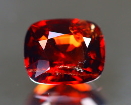 Red Spinel 1.51Ct Cushion Cut Natural Burmese Red Color Spinel C1209