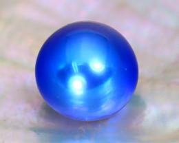 Akoya Pearl 7.7mm 2.96Ct Natural Akoya Blue Pearl C1215
