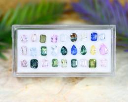Sapphire 7.38Ct Natural Madagascar Fancy Color Sapphire Lot C1234