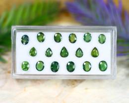 Sapphire 5.95Ct Natural Australian Green Color Sapphire Lot C1235