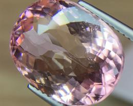 12.09ct baby pink tourmaline gemstone