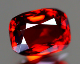 Red Spinel 1.14Ct VVS Cushion Cut Natural Burmese Red Spinel LX94