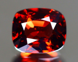 Red Spinel 1.00Ct VVS Cushion Cut Natural Burmese Red Spinel LX97