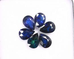 5.36cts Natural Dark Blue Sapphire LOTS/MAY2756
