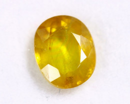3.24cts Natural Yellow Sapphire/MAW2757