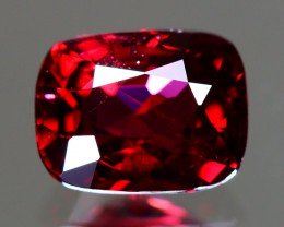 Red Spinel 1.28Ct Cushion Cut Natural Burmese Red Spinel LX106