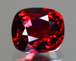 Red Spinel 1.13Ct VVS Cushion Cut Natural Burmese Red Spinel LX108