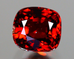 Red Spinel 1.26Ct Cushion Cut Natural Burmese Red Spinel LX111