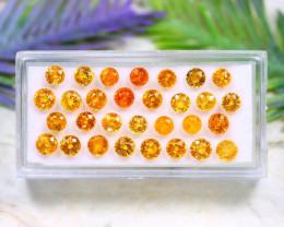 Fanta Garnet 10.45Ct Round Cut Natural Fanta Spessartite Garnet Lot A1315