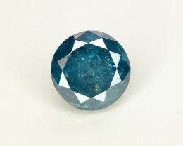 Diamond 0.65 Ct Rich  Blue Color & Top Brilliance Diamond-SKU=