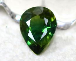 Fancy Sapphire 0.74Ct Natural Fancy Green Sapphire D1606/A16