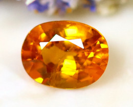 Fancy Sapphire 0.84Ct Natural Fancy Yellow Sapphire D1607/A16