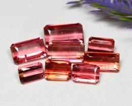 Tourmaline 9.86Ct Octagon Cut Natural Pink Color Tourmaline Lot A1326