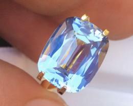 7.15 Ct Santa Maria Color Natural Aquamarine