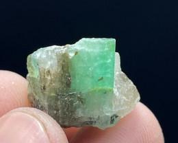 Beautiful Natural color Swat Emerald Specimen 29 Cts -Pak
