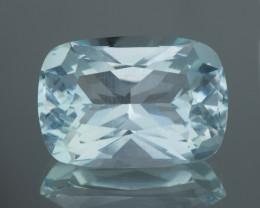 9.17Ct Aquamarine Brilliant Lustrous Cut Gemstone