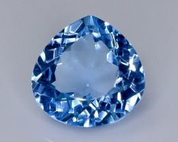 12.56 Crt  topaz  Natural  Faceted Gemstone.( AB 45)