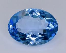11.43 Crt  topaz  Natural  Faceted Gemstone.( AB 45)