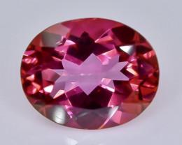 4.14 Crt  topaz  Natural  Faceted Gemstone.( AB 45)